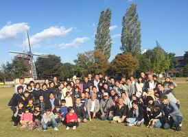 紺藤織物のCSR活動「感謝祭 BBQ」